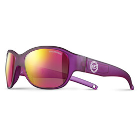 Julbo Junior 6-10Y Lola Spectron 3CF Sunglasses Matt Translucent Purple-Multilayer Pink
